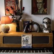 L'appartement parfaitement préservé de Boris Vian s'entrouvre au public