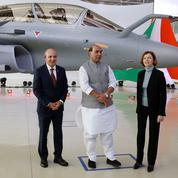 Dassault livre son premier Rafale à l'Inde