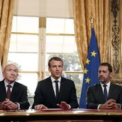 Emmanuel Macron au chevet de ses «grognards»