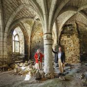 Ils font rebattre le cœur d'une abbaye cistercienne