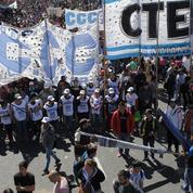 L'Argentine s'enfonce dans la crise avant l'élection présidentielle