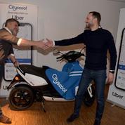 Uber va proposer un service de scooter à Paris