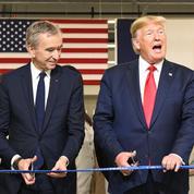 Donald Trump inaugure un atelier Louis Vuitton au Texas