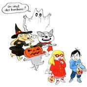 Où fêter Halloween à Paris avec les enfants?