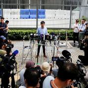 Hongkong: Pékin appuie l'éviction de Joshua Wong aux élections locales du 24 novembre