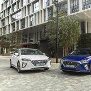 Hyundai Ioniq, la berline aux trois visages