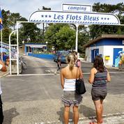 Tempête Amélie: des dégâts au célèbre camping des Flots Bleus