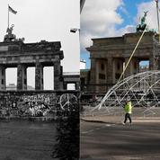 Berlin, avant et après la chute du mur 30 ans après