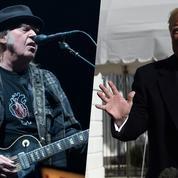 Neil Young veut devenir américain pour voter contre Donald Trump