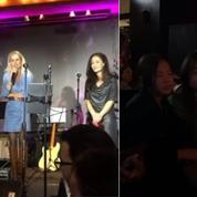 Laeticia Hallyday se rend à un concert hommage à Johnny pour la première fois
