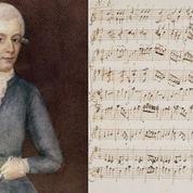 Une partition de la main de Mozart vendue à l'encan 372.500 euros