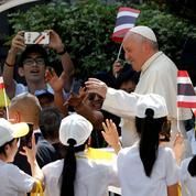 En Thaïlande, le pape François lance un appel contre «le fléau» de «l'esclavage» sexuel