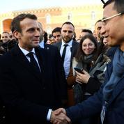 Deuxième journée sous tension pour Macron à Amiens