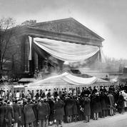 Jean Jaurès entre au Panthéon le 23 novembre 1924: un «spectacle grandiose»