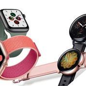 Apple Watch et Samsung Galaxy Watch Active 2 : à chacune ses atouts
