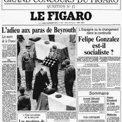 Attentat du Drakkar le 23 octobre 1983: l'adieu aux paras dans la cour des Invalides