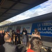 Un train pour favoriser l'intégration des réfugiés va parcourir cinq villes de France