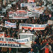 Grève: retour sur 30 ans de mouvements sociaux