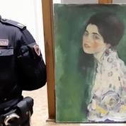 Le tableau retrouvé par hasard en Italie est authentifié comme un Klimt