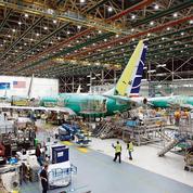 Boeing suspend la production du 737 Max à partir de janvier
