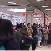 À Shanghai, des étudiants manifestent pour la «liberté de pensée»