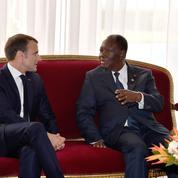 Emmanuel Macron en Côte d'Ivoire pour un Noël avec les soldats français