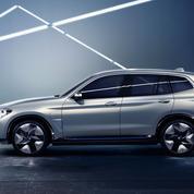 BMW iX3, 440 km d'autonomie électrique