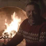 «Joyeux Noël»: Kevin Spacey a un étrange message à faire passer à ses détracteurs