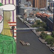 Une toile de Picasso dégradée à la Tate Modern de Londres