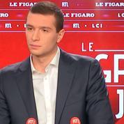Bardella: «Macron considère la France comme une salle de marchés»