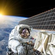 L'astronaute traité dans l'espace avait un caillot dans le cou