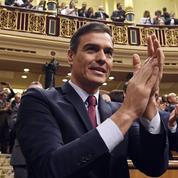 Reconduit sur le fil, Pedro Sanchez lie son sort à celui de ses alliés