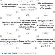 Instagram: vos 10 citations préférées en 2019