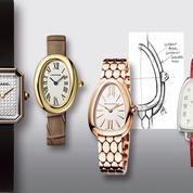 La femme est l'avenir de la montre de forme