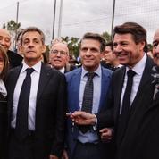 Nicolas Sarkozy en guest-star à Nice pour soutenir son «ami» Christian Estrosi