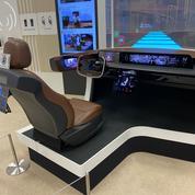Dans l'espace privé de LG Display, Le Figaro a pu explorer des technologies d'avant-garde