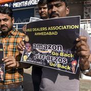 Amazon en butte à l'hostilité des petits commerçants en Inde