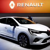 Le groupe Renault accuse un recul des ventes moindre que PSA