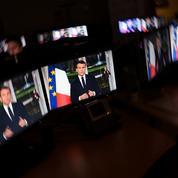 Média, réseaux sociaux, GAFA... le décryptage des vœux à la presse d'Emmanuel Macron
