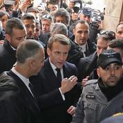 Dans la ville sainte, la colère «chiraquienne» d'Emmanuel Macron