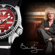 Une montre Seiko en hommage à la guitare mythique de Brian May
