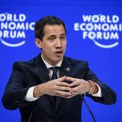 Juan Guaido en quête de soutien international à Davos