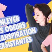 Comment enlever les mauvaises odeurs persistantes sur les vêtements?
