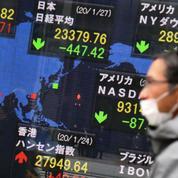 Le virus chinois entraîne un coup de tabac sur les marchés