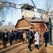 À Auschwitz, le «choc» d'Édouard Philippe