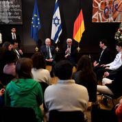 A Berlin, le président israélien à l'écoute de jeunes juifs allemands sur l'antisémitisme