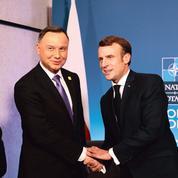 Emmanuel Macron vise l'entente à Varsovie