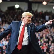 À Des Moines, Trump fait son show et nargue ses adversaires