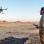 Des drones utilisés par les ONG pour déceler les explosifs enfouis