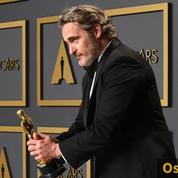 Oscars: le sourire du Joker, les larmes du meilleur acteur, Joaquin Phoenix